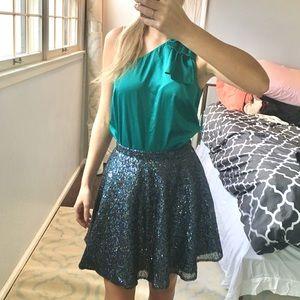 TopShop - sequin sparkly skirt